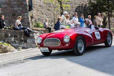 Oldtimer- Cabrio- Reise Umbrien und Süd-Toskana
