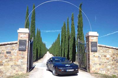 Süd Toskana Umbrien Oldtimer- Cabrio- Tour mit Umbria Mia