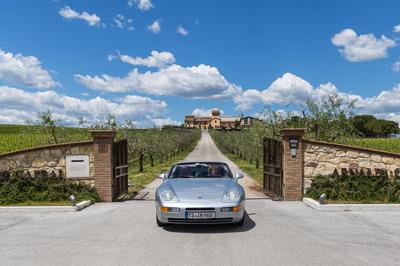 Umbrien Süd-Toskana Oldtimer- Cabrio- Tour