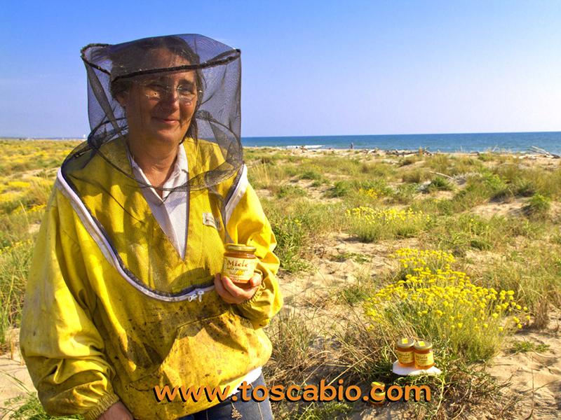 ToscaBio_Miele della spiaggia con produttore__web