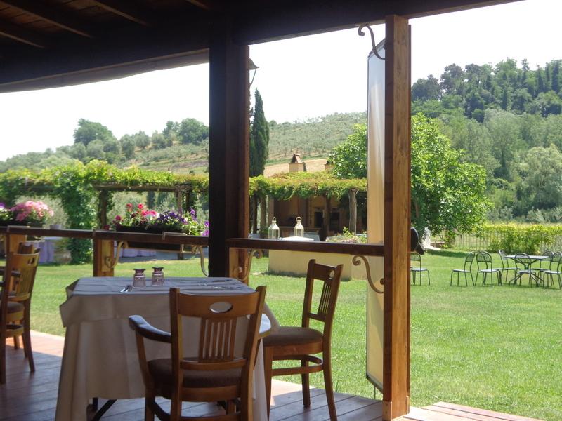 T13-Toskana -Restaurant bei San Ruffino