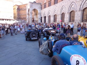 T9-Siena Toskana - Gran Premio Nuvolari - Campo mit Oldtimern