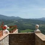 Ausblick Val d'Orcia