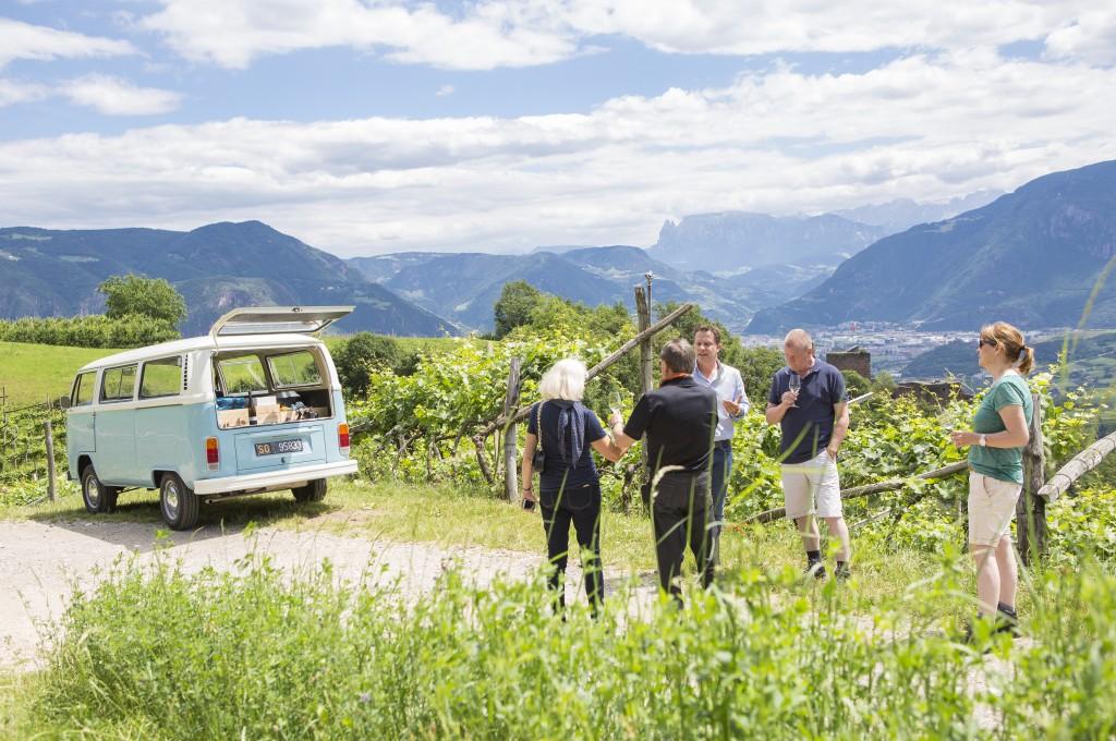 T4 - Südtirol - Tour in den Weinbergen