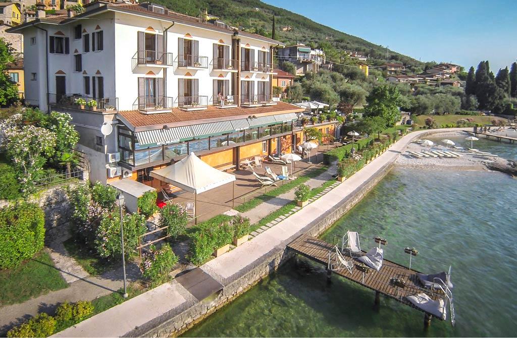 La Caletta Hotel Bolognese am Gardasee, Brenzone-Castelletto