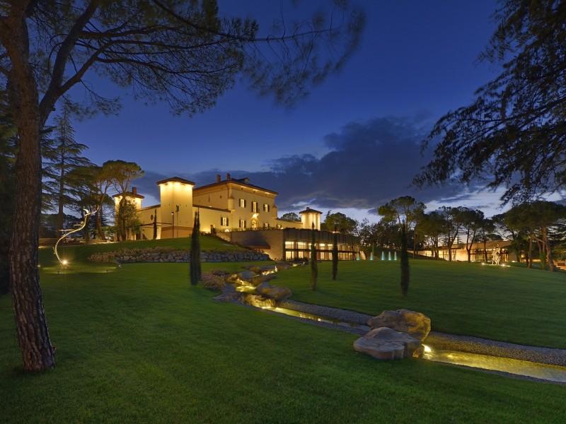 Unser Domizil in der Emilia Romagna: Palazzo di Varignana Resort