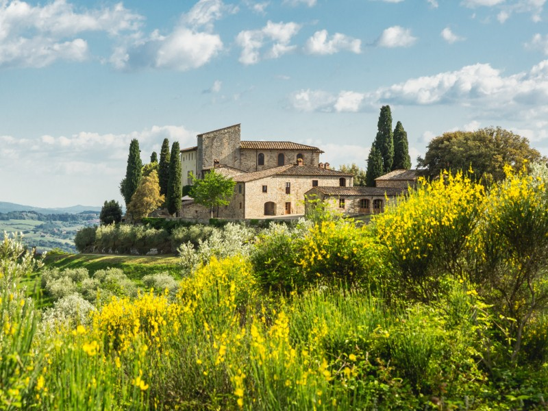 Castello La Leccia - Ansicht