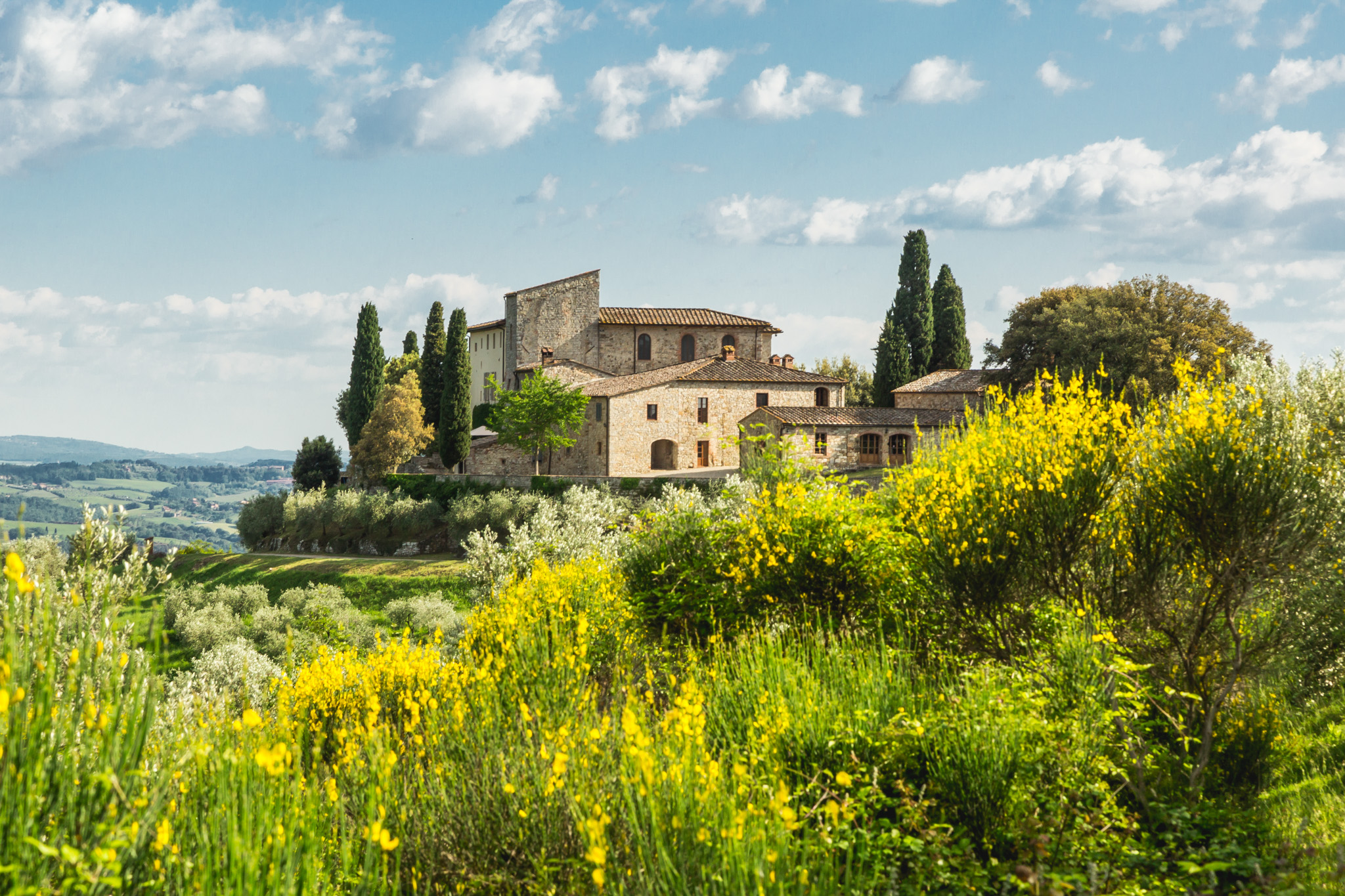 Weingut Castello La Leccia | Bei Castellina in Chianti