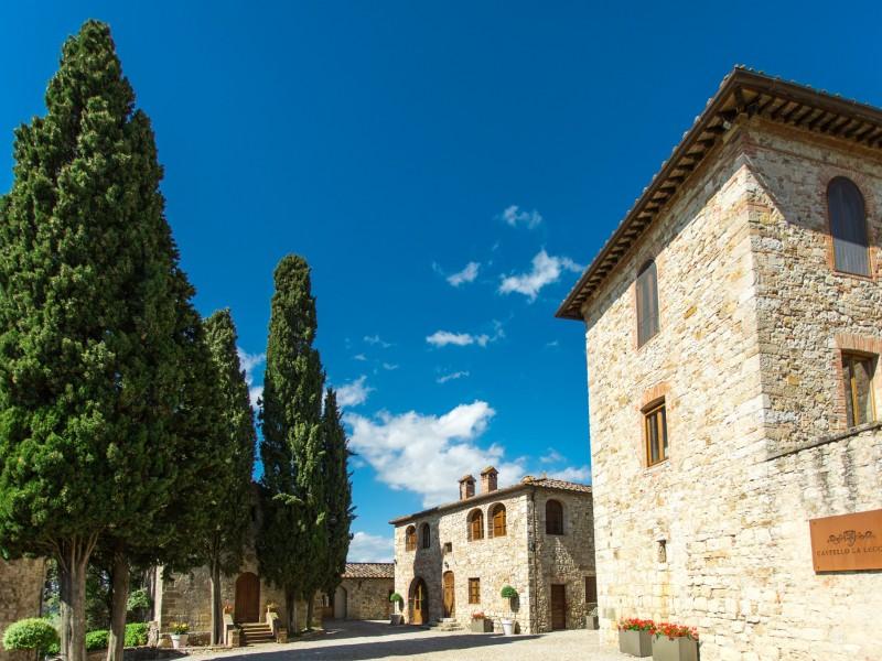 Castello La Leccia - Innenhof