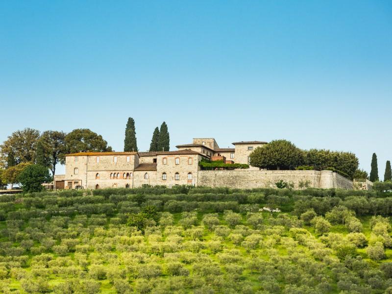 Ital. Träume - Chianti-Castello La Leccia