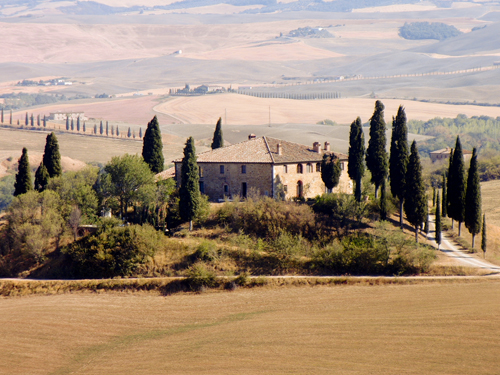 Toskana - Casa bei Pienza - Credit Frank Gindler