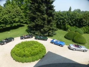Villa San Donnino - Blick in den Park
