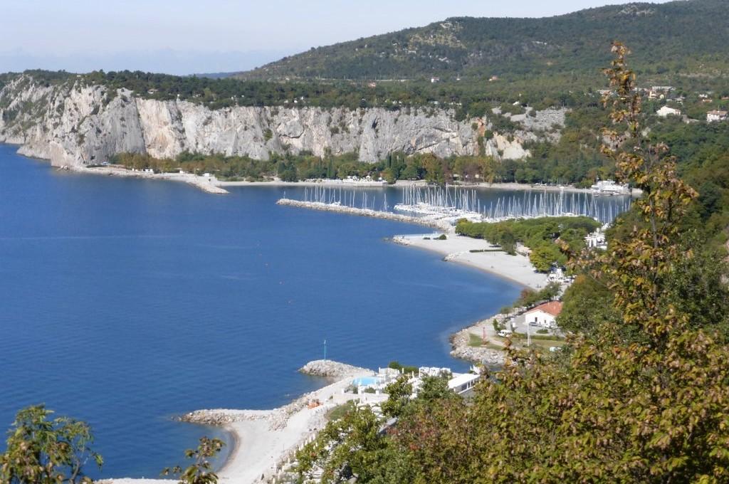Adriaküste am Golf von Trieste
