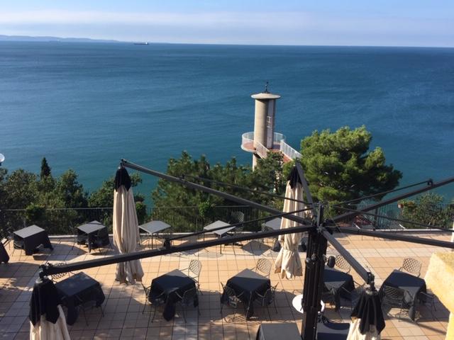 Hotel Riviera near Trieste - Adria view