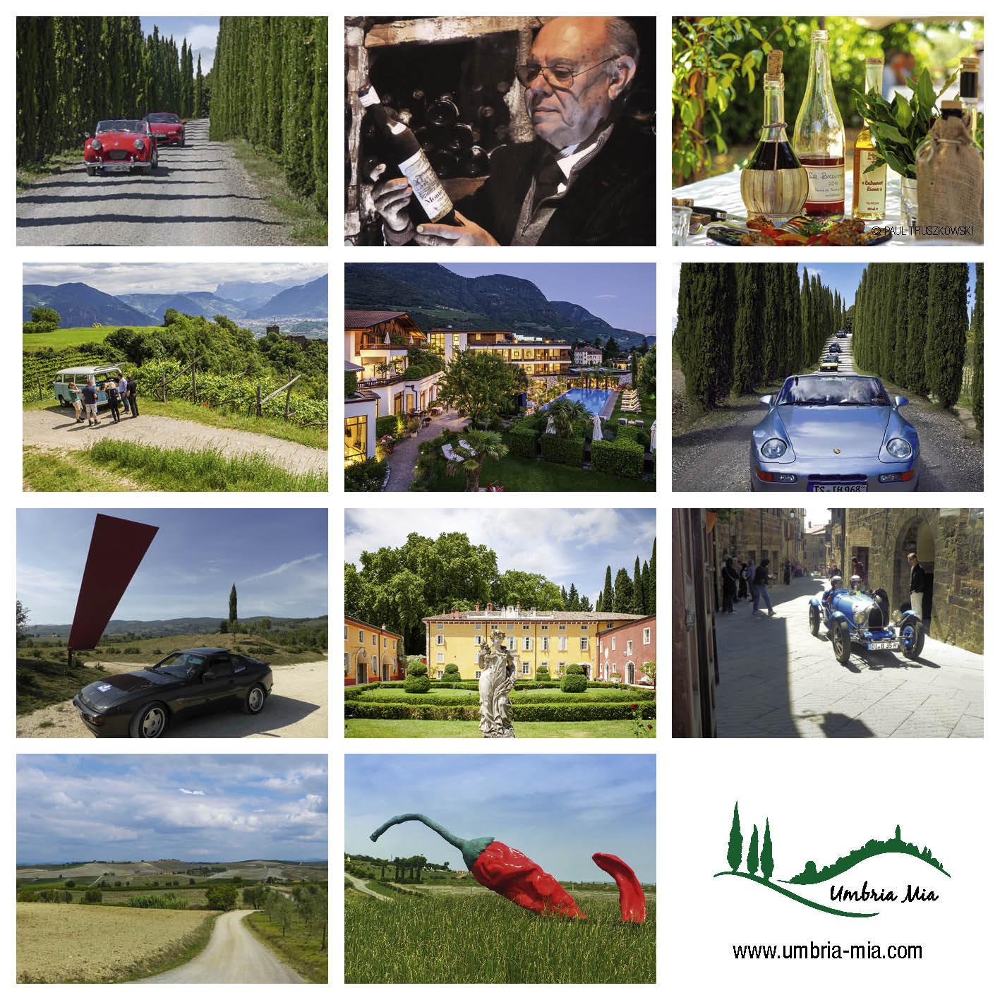 Italien - Road Trips & Genuss