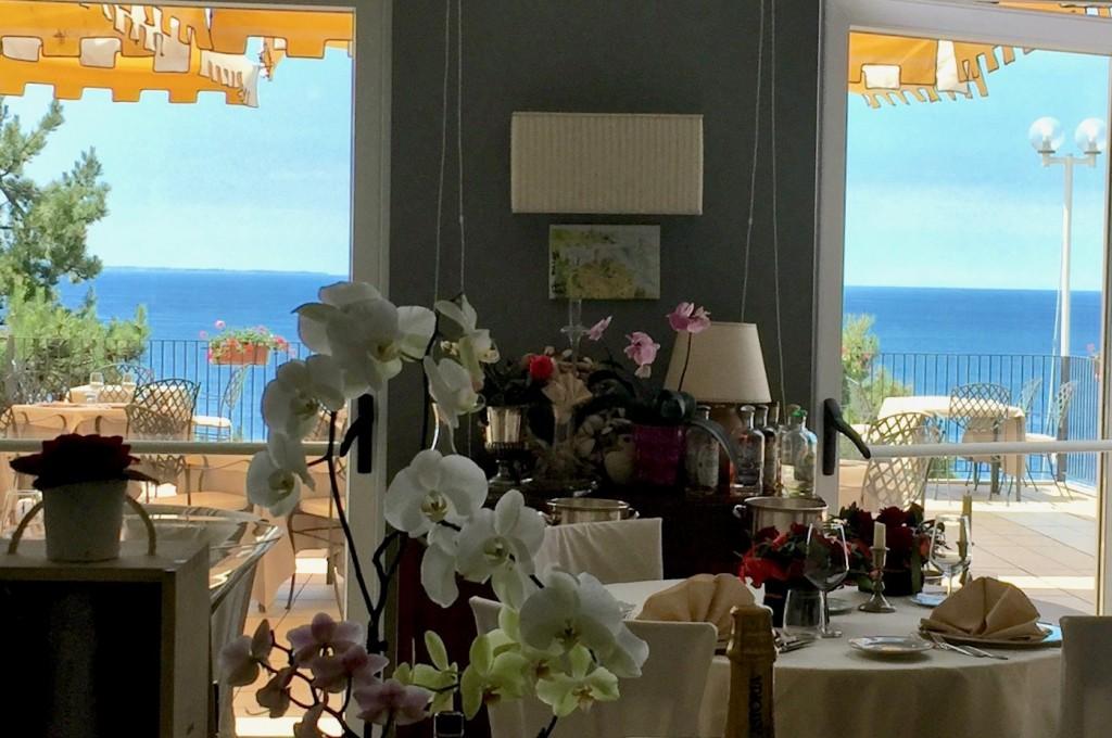 Hotel Riviera - Panorama -Internoesterno foto sala Delfini