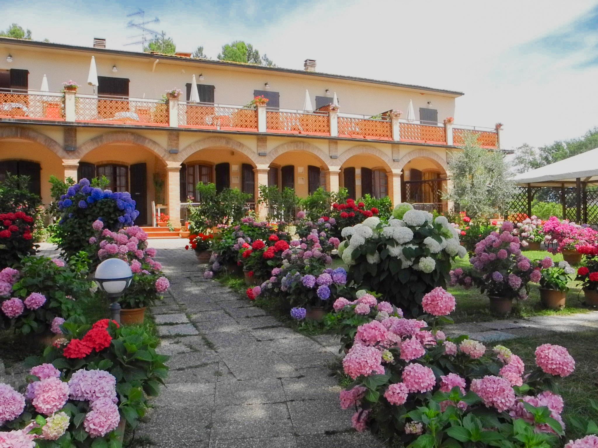 Landhotel Le Renaie am Rand vom Chianti
