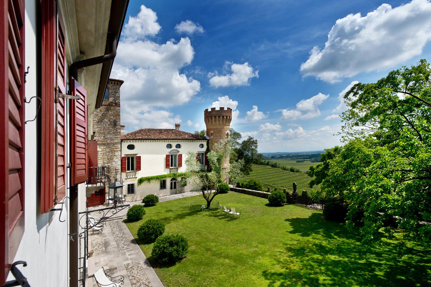 Castello di Buttrio bei Udine im Friaul.