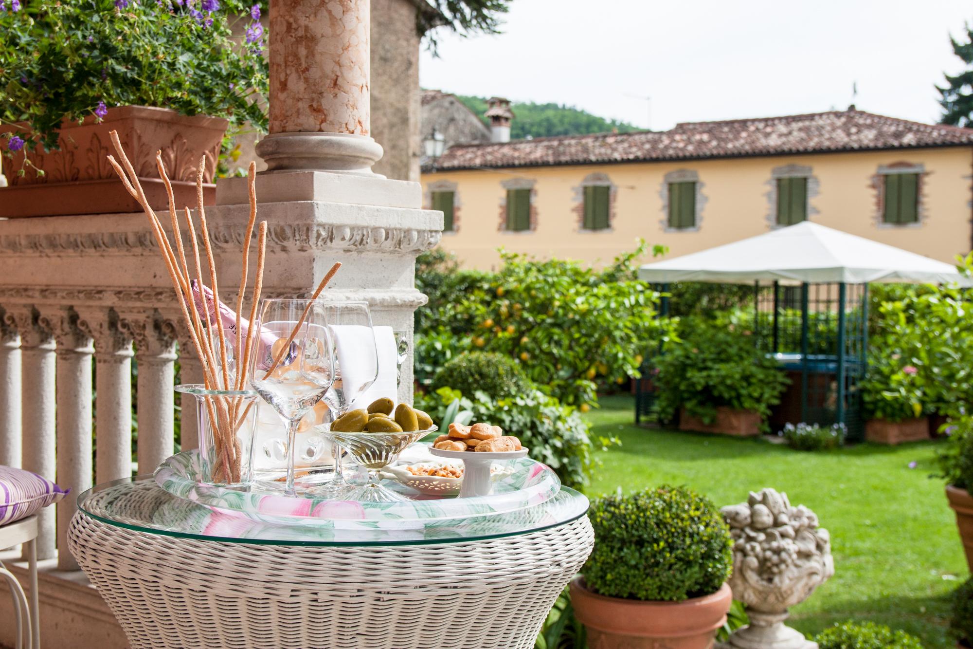 Villa Abbazia in Follina im Valdobbiadene/Veneto