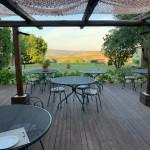 Tenuta Fattoria Vecchia - Terrasse mit Ausblick