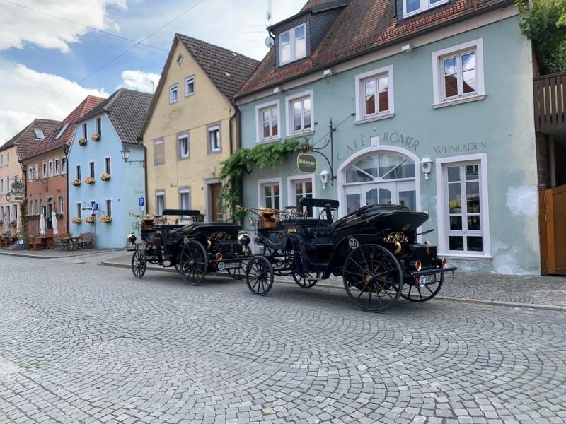 Aaglander Motorkutschen in Prichsenstadt
