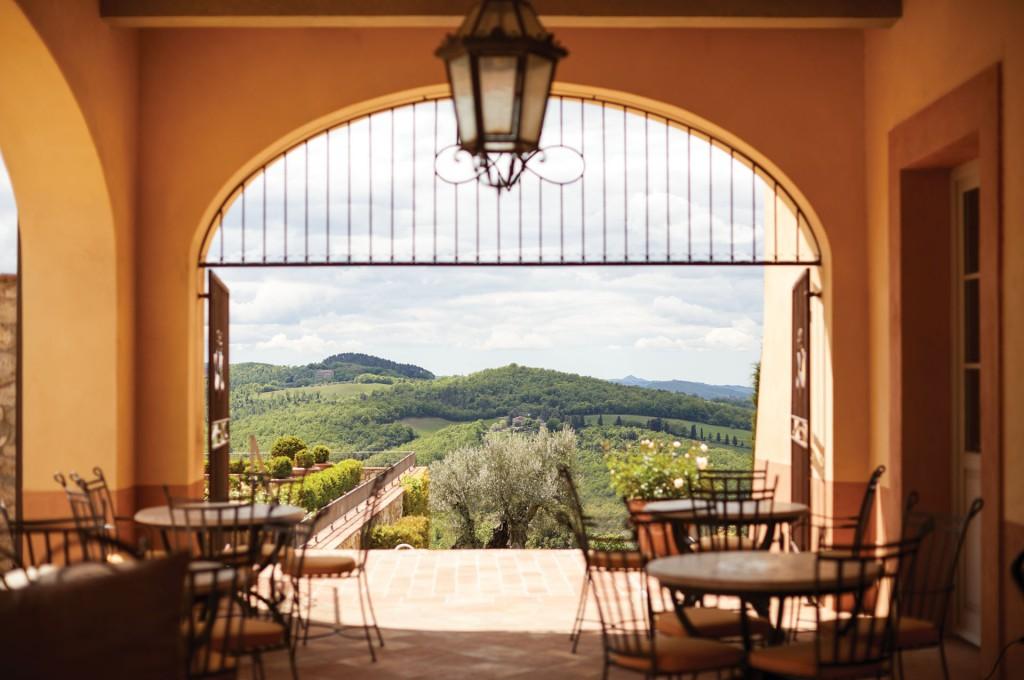 COPYRIGHT: Castello di Casole Belmond Hotel