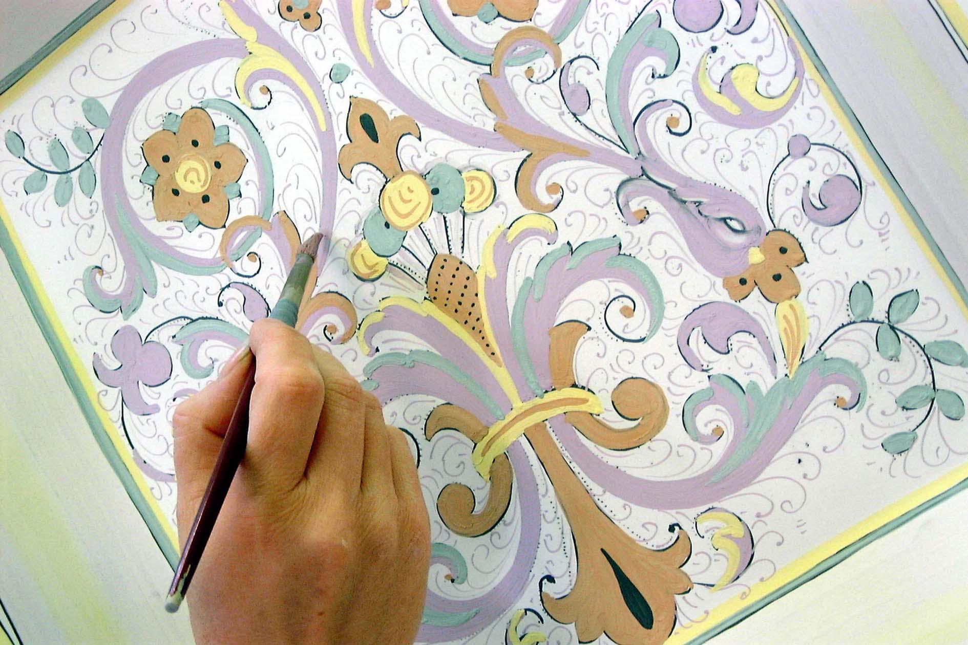 Umbrien: Ceramiche Sambuco in Deruta